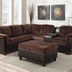 Cleavon Chocolate Champion Sectional Sofa