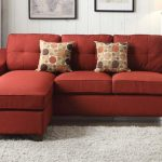 Cleavon II Red Sectional Sofa