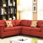 Cleavon Red Sectional Sofa