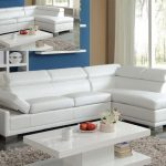 Cleon White Sectional Sofa