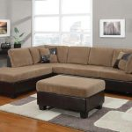 Connell Light Brown Sectional Sofa