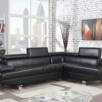 Connor Black Sectional Sofa