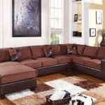 Dannis Chocolate Sectional Sofa