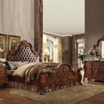 Dresden Collection Cherry Oak Bedroom Set A