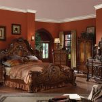 Dresden Collection Cherry Oak Bedroom Set B