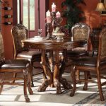 Dresden Collection Cherry Oak Dining Set A