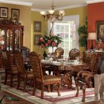 Dresden Collection Cherry Oak Dining Set B