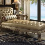 Dresden Collection Gold Chaise