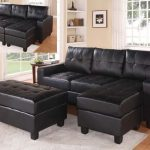 Lyssa Black Sectional Sofa