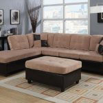 Milano Camel Sectional Sofa