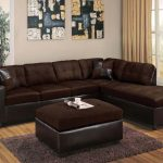 Milano Chocolate Sectional Sofa