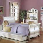 Pearl Sleigh Bed Youth Set