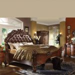 Vendome Collection Cherry Bedroom Set