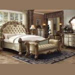 Vendome Collection Gold Bedroom Set
