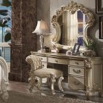 Vendome Collection Gold Vanity Set