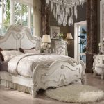 Versailles Collection Bone White Bedroom Set