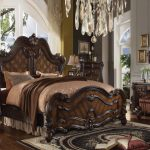 Versailles Collection Cherry Oak Bedroom Set