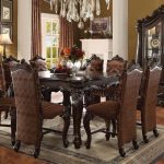 Versailles Collection Cherry Oak Dining Set