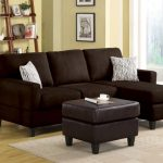 Vogue Chocolate Sectional Sofa
