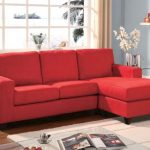 Vogue Red Sectional Sofa